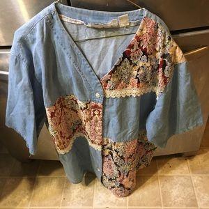 Pre Owned Ladies Shirt Sz 1X